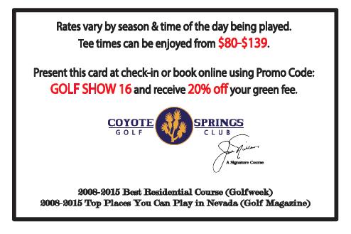 coyote springs 20 off discount. Black Bedroom Furniture Sets. Home Design Ideas